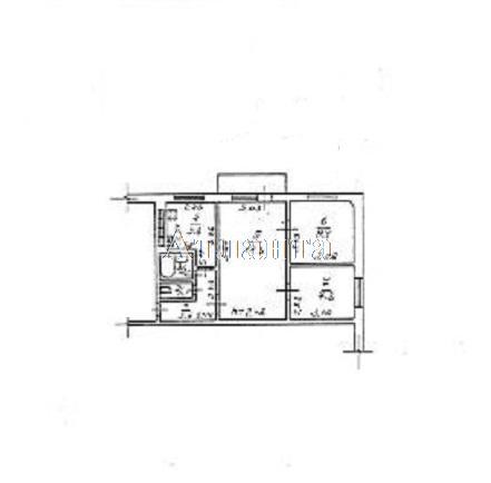 Продается Многоуровневая квартира на ул. Жукова Марш. Пр. (Ленинской Искры Пр.) — 33 900 у.е.