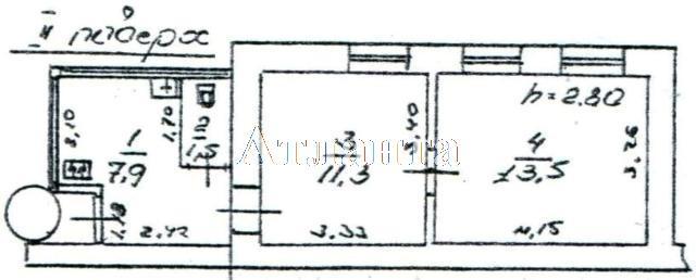 Продается 2-комнатная квартира на ул. Большая Арнаутская (Чкалова) — 21 500 у.е. (фото №10)