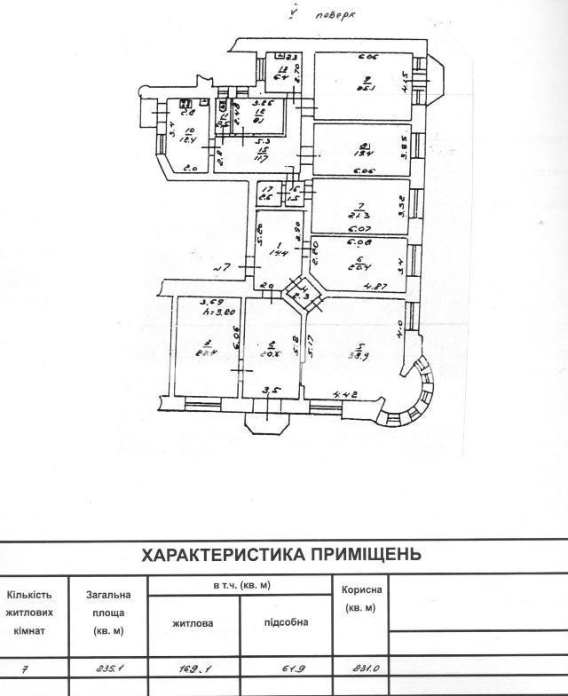 Продается 7-комнатная квартира на ул. Дерибасовская — 750 000 у.е. (фото №3)