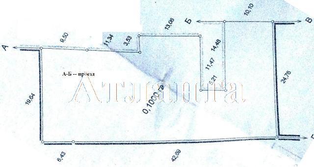Продается земельный участок на ул. Кордонный Пер. — 480 000 у.е.