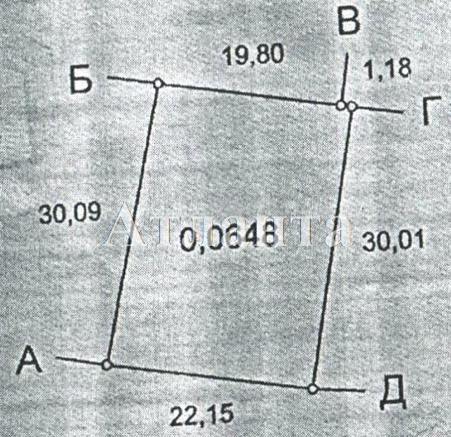 Продается земельный участок на ул. Массив Солнечный — 8 000 у.е.