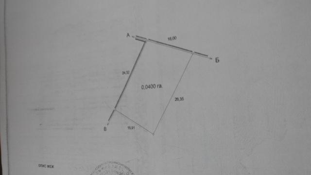 Продается земельный участок на ул. Гамалеи Ак. — 160 000 у.е.