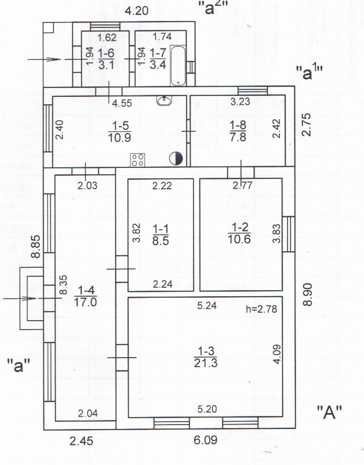 Продается дом на ул. Дунайская — 47 000 у.е. (фото №11)