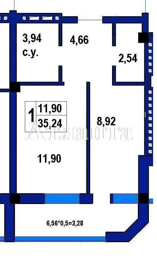 Продается 1-комнатная квартира на ул. Софиевская (Короленко) — 33 310 у.е.