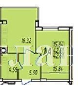 Продается 1-комнатная квартира на ул. Строителей — 22 620 у.е. (фото №3)