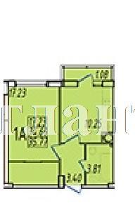 Продается 1-комнатная квартира на ул. Строителей,1 — 21 280 у.е. (фото №3)