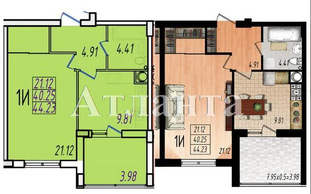 Продается 1-комнатная Квартира на ул. Строителей,1 — 26 310 у.е.