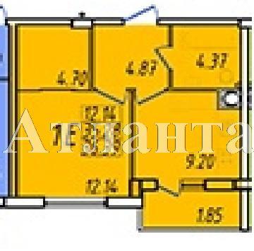 Продается 1-комнатная квартира на ул. Строителей — 24 110 у.е. (фото №3)