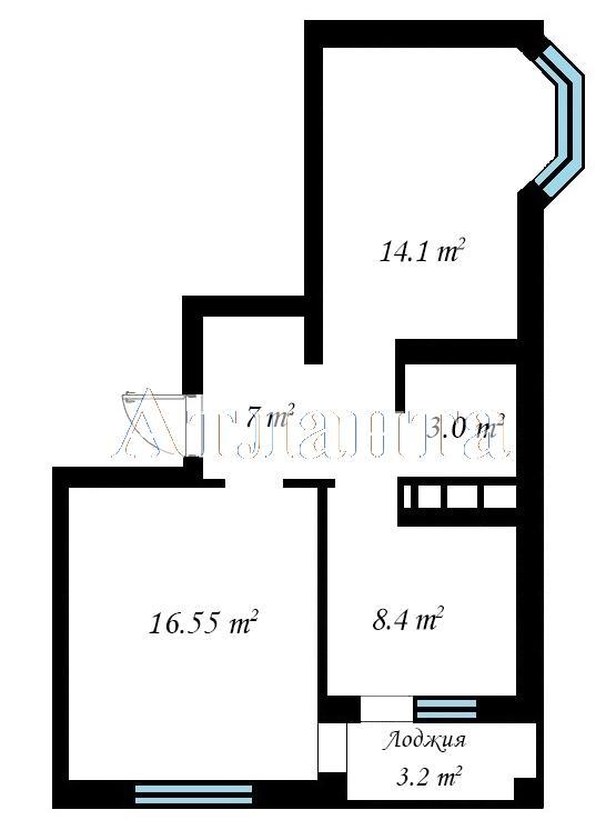 Продается 2-комнатная квартира на ул. Бочарова Ген. — 30 390 у.е.