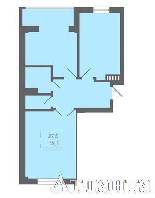 Продается 2-комнатная квартира на ул. Бочарова Ген. — 39 070 у.е.