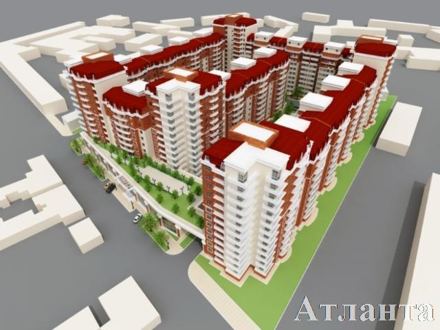 Продается 1-комнатная квартира на ул. Цветаева Ген. — 55 590 у.е. (фото №2)
