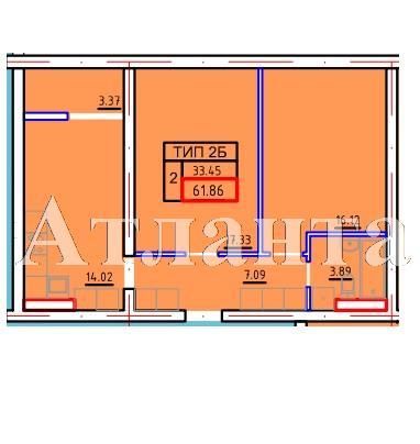 Продается 2-комнатная Квартира на ул. Марсельская — 36 400 у.е. (фото №3)