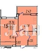 Продается 1-комнатная квартира на ул. Жм Дружный — 23 270 у.е. (фото №3)