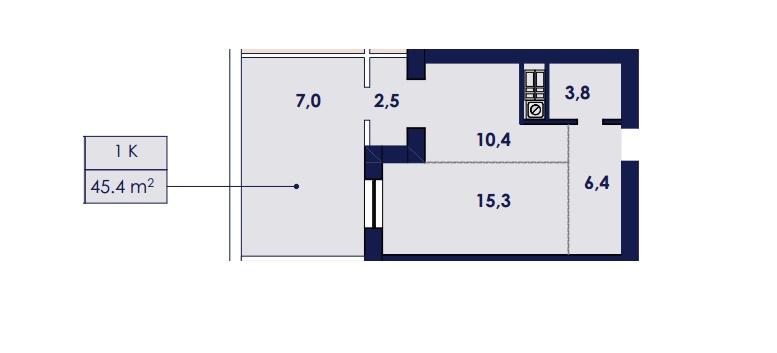 Продается 1-комнатная квартира на ул. Чехова — 26 700 у.е. (фото №3)