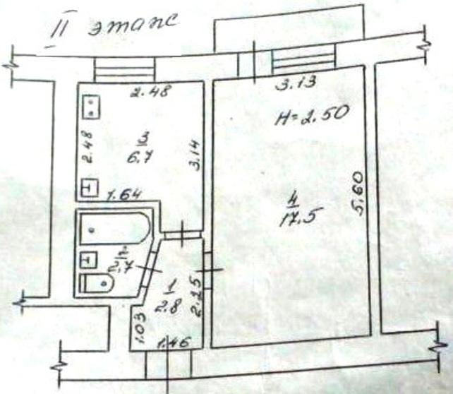 Продается 1-комнатная квартира на ул. Петрова Ген. — 22 000 у.е.