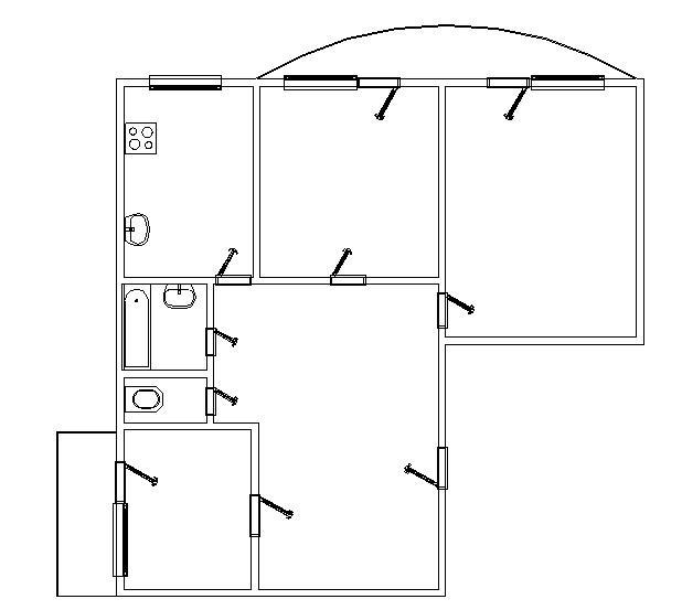 Продается 3-комнатная Квартира на ул. Днепропетр. Дор. (Семена Палия) — 63 000 у.е. (фото №7)