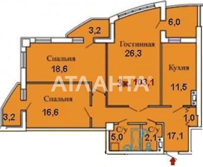 Продается 3-комнатная Квартира на ул. Люстдорфская Дор. (Черноморская Дор.) — 80 000 у.е.