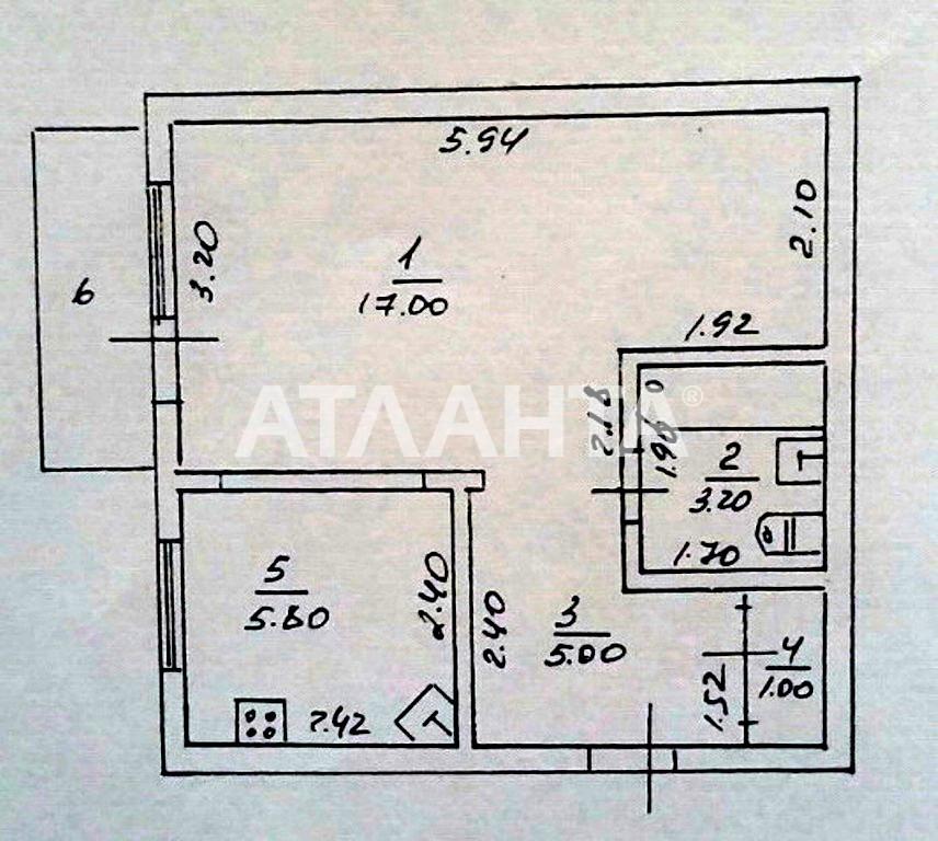 Продается 1-комнатная Квартира на ул. Хмельницкого Богдана — 18 000 у.е. (фото №7)