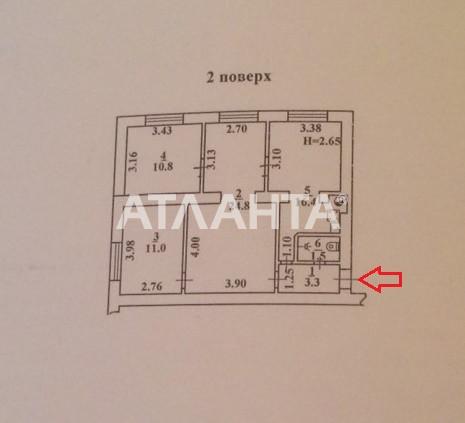 Продается 3-комнатная Квартира на ул. Люстдорфская Дор. 27 — 42 000 у.е. (фото №2)
