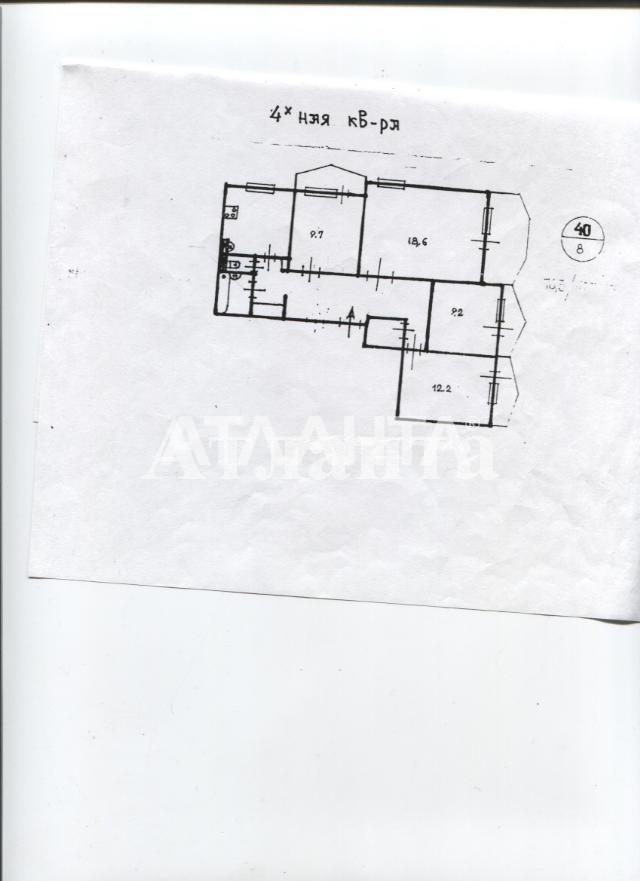 Продается 4-комнатная Квартира на ул. Добровольского Пр. — 47 000 у.е. (фото №2)