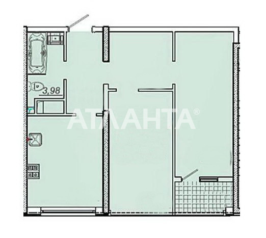 Продается 2-комнатная Квартира на ул. Сахарова — 37 000 у.е. (фото №2)