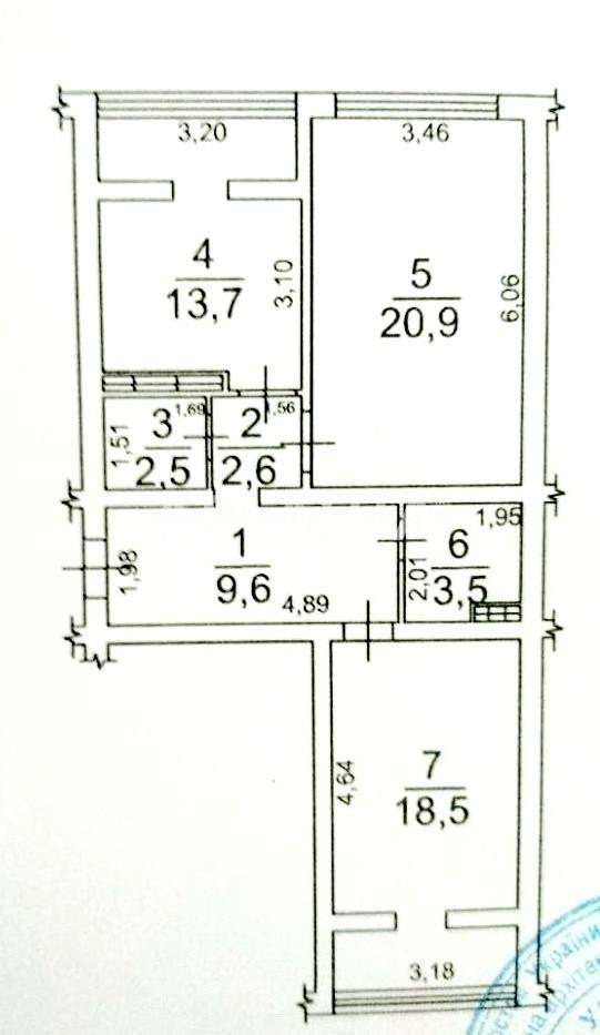 Продается 2-комнатная Квартира на ул. Марсельская — 40 000 у.е. (фото №5)