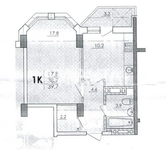Продается 1-комнатная Квартира на ул. Школьная — 24 000 у.е. (фото №2)