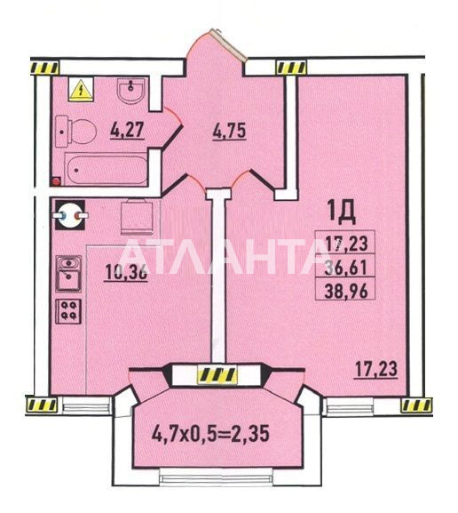 Продается 1-комнатная Квартира на ул. Радужный М-Н — 24 000 у.е. (фото №6)