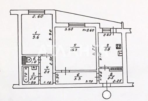 Продается 2-комнатная Квартира на ул. Заболотного Ак. — 30 500 у.е. (фото №11)