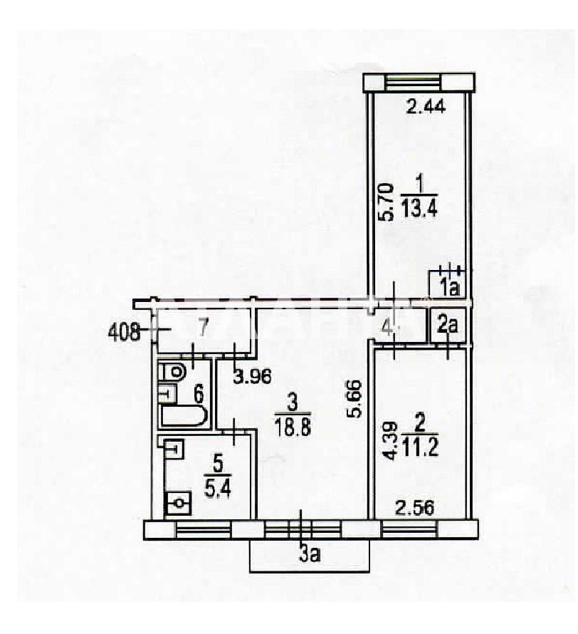 Продается 3-комнатная Квартира на ул. Терешковой — 53 000 у.е. (фото №11)