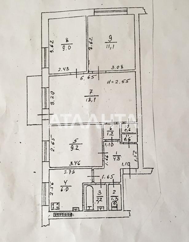 Продается 3-комнатная Квартира на ул. Малиновского Марш. — 55 000 у.е. (фото №11)
