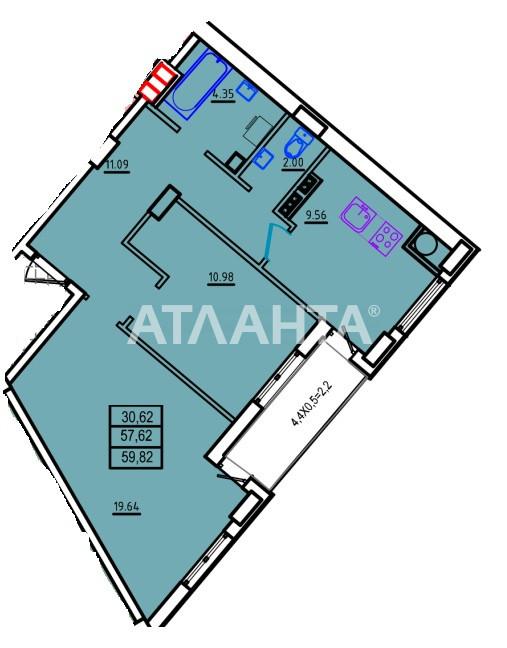 Продается 2-комнатная Квартира на ул. Люстдорфская Дор. (Черноморская Дор.) — 44 760 у.е.