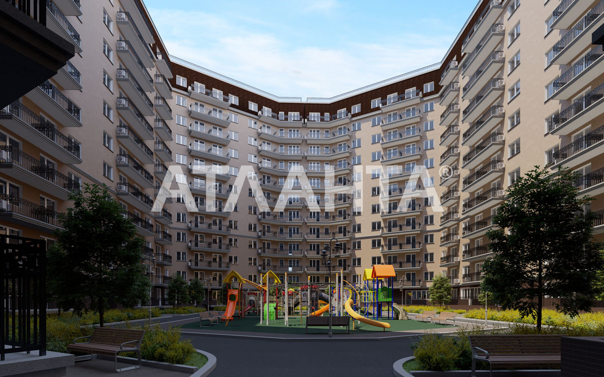 Продается 2-комнатная Квартира на ул. Люстдорфская Дор. (Черноморская Дор.) — 44 760 у.е. (фото №2)