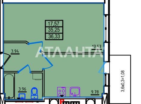 Продается 1-комнатная Квартира на ул. Люстдорфская Дор. (Черноморская Дор.) — 26 160 у.е.
