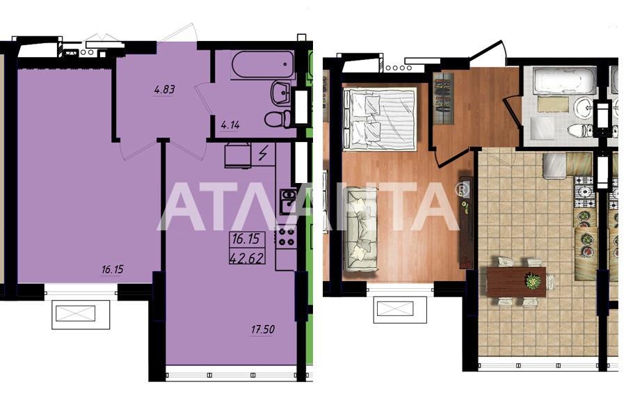 Продается 1-комнатная Квартира на ул. Строителей — 25 200 у.е. (фото №2)