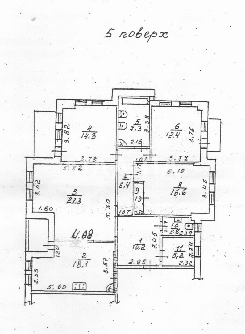 Продается 4-комнатная Квартира на ул. Фонтанская Дор. (Перекопской Дивизии) — 135 000 у.е. (фото №9)