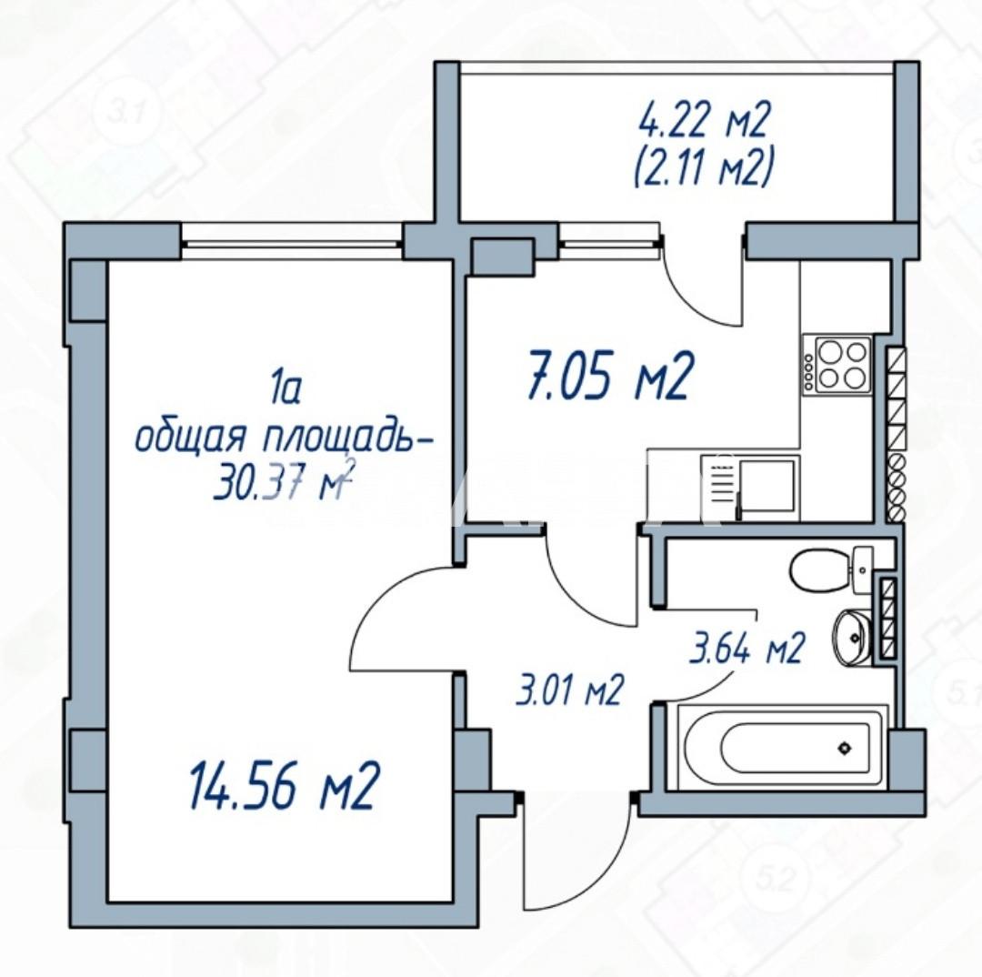 Продается 1-комнатная Квартира на ул. Проездная — 27 000 у.е. (фото №11)