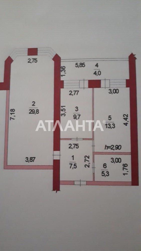 Продается 2-комнатная Квартира на ул. Вильямса Ак. — 53 000 у.е. (фото №8)