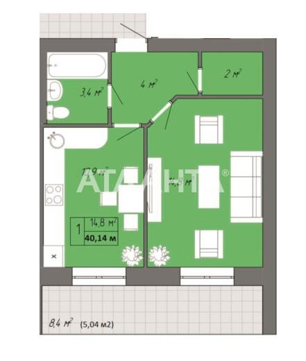 Продается 1-комнатная Квартира на ул. Небесной Сотни Пр. (Жукова Марш. Пр., Ленинской Искры Пр.) — 21 458 у.е.