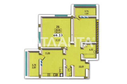 Продается 2-комнатная Квартира на ул. Радужный М-Н — 51 000 у.е. (фото №8)