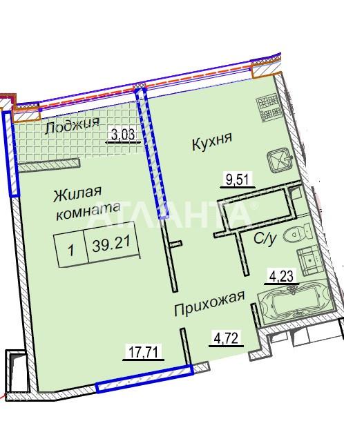 Продается 1-комнатная Квартира на ул. Каманина — 47 280 у.е. (фото №4)