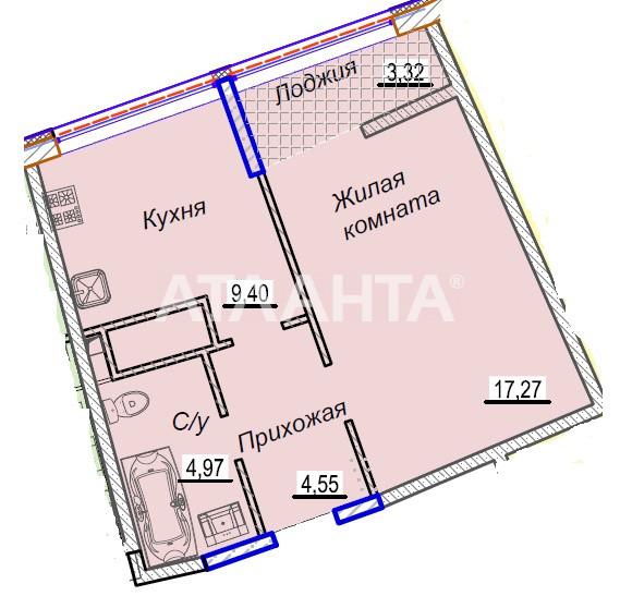 Продается 1-комнатная Квартира на ул. Каманина — 54 460 у.е. (фото №6)