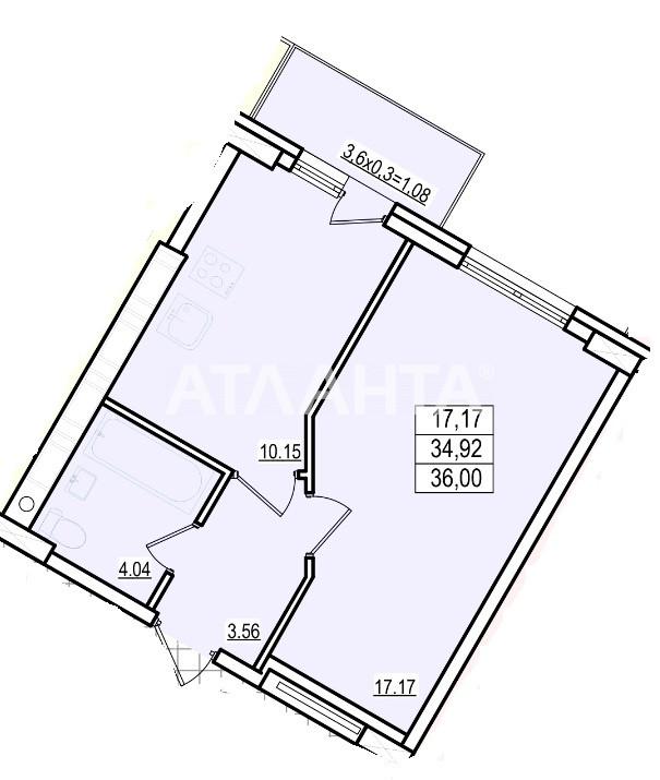 Продается 1-комнатная Квартира на ул. Люстдорфская Дор. (Черноморская Дор.) — 26 460 у.е. (фото №2)