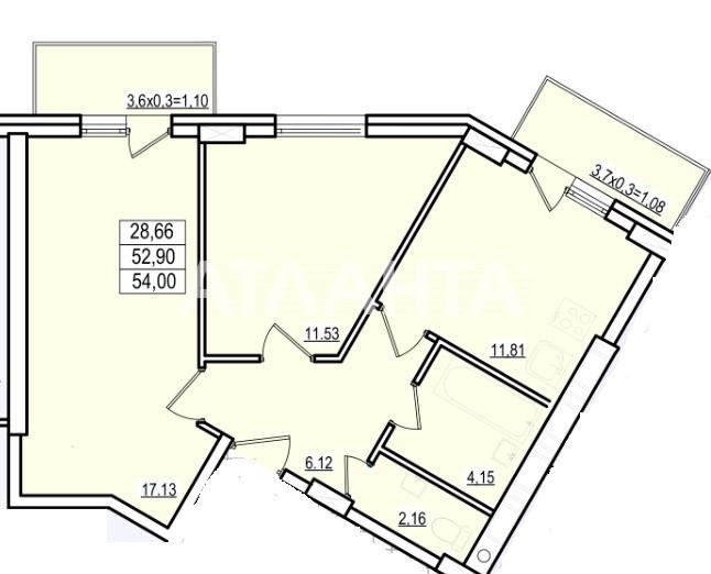 Продается 2-комнатная Квартира на ул. Люстдорфская Дор. (Черноморская Дор.) — 38 610 у.е.