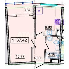 Продается 1-комнатная Квартира на ул. Генуэзская — 44 700 у.е. (фото №3)