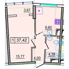 Продается 1-комнатная Квартира на ул. Генуэзская — 44 500 у.е. (фото №2)