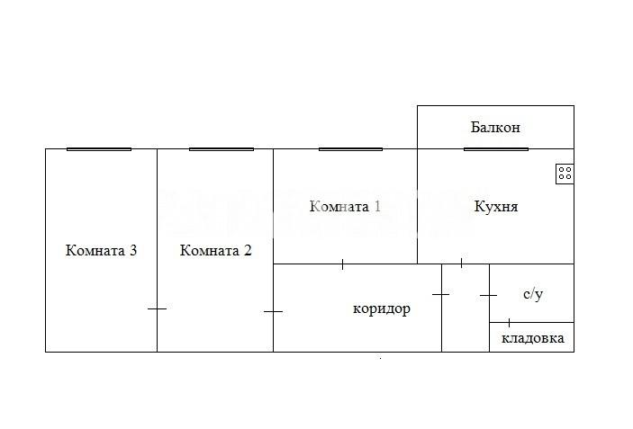 Продается 3-комнатная Квартира на ул. Петрова Ген. — 52 500 у.е. (фото №12)