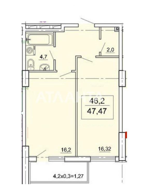 Продается 1-комнатная Квартира на ул. Педагогическая — 43 000 у.е. (фото №3)