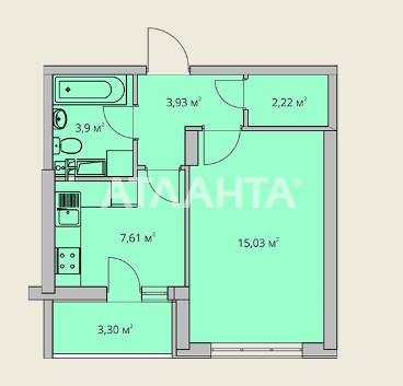 Продается 1-комнатная Квартира на ул. Воробьева Ак. — 32 000 у.е.