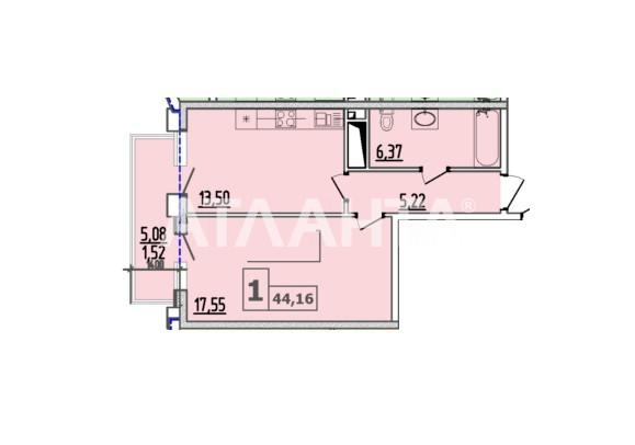 Продается 1-комнатная Квартира на ул. Итальянский Бул. (Томаса Ул.) — 53 000 у.е. (фото №2)